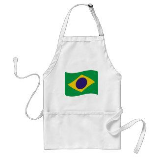 brazil flag icon aprons