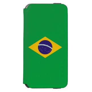 Brazil Flag Incipio Watson™ iPhone 6 Wallet Case