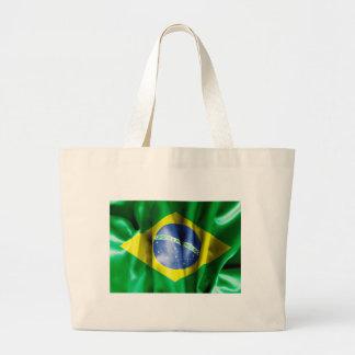 Brazil Flag Jumbo Tote Bag