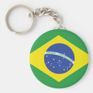 Brazil Flag Key Ring