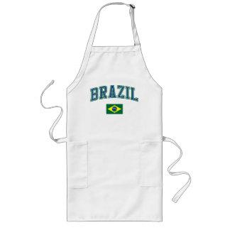 Brazil + Flag Long Apron