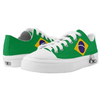 Brazil Flag Low Tops
