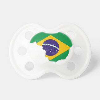 Brazil Flag Map Symbol Brazilian Country Dummy