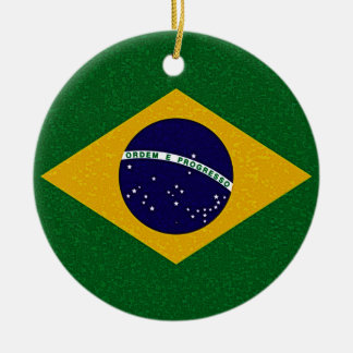 BRAZIL FLAG Ornament