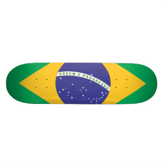 Brazil flag quality skate decks