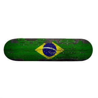 Brazil Flag Skate Deck