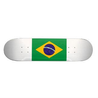 Brazil Flag 18.1 Cm Old School Skateboard Deck