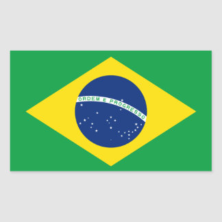 Brazil* Flag Sticker