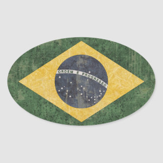 Brazil Flag Stickers