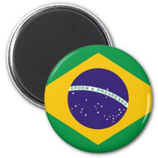 Brazil Flag The MUSEUM Zazzle I Love MY Country Fridge Magnet