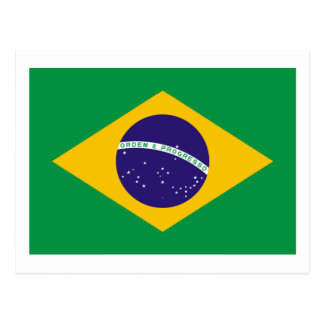 Brazil Flag The MUSEUM Zazzle I Love MY Country Post Cards