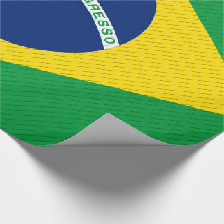 Brazil Flag Wrapping Paper