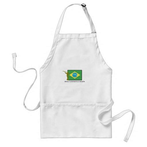 BRAZIL FLORIANOPOLIS MISSION LDS APRON