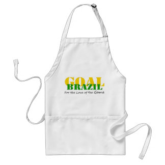Brazil - For the Love of the Game Apron