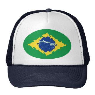 Brazil Gnarly Flag Hat