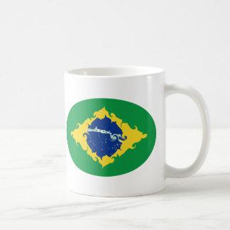 Brazil Gnarly Flag Mug