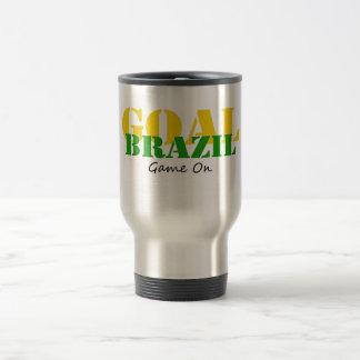 Brazil - Goal Game On Mugs