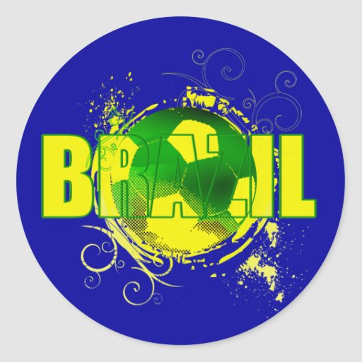 Brazil Logo 512x512 Brazil Grunge Logo Soccer Ball