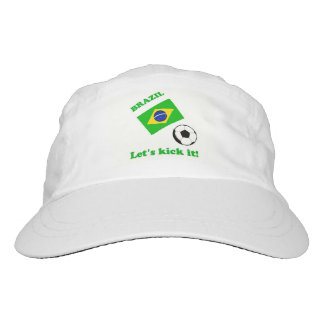 Brazil...Let's kick it! Hat