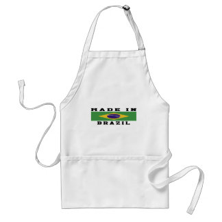 Brazil Made In Designs Standard Apron