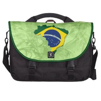 Brazil map laptop bag