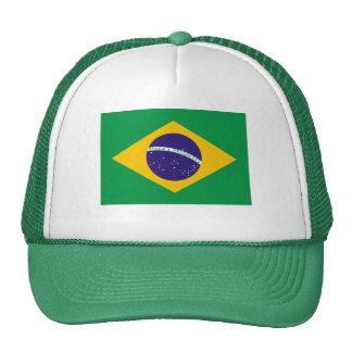 Brazil National Flag Trucker Hat