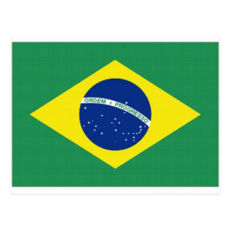 Brazil National Flag Postcard