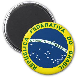 brazil national seal refrigerator magnets