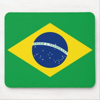 Brazil National World Flag Mouse Pad