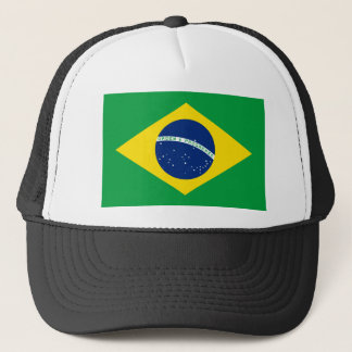 Brazil National World Flag Trucker Hat