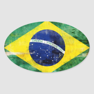 Brazil old flag stickers
