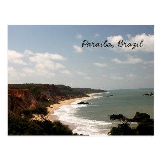 Brazil Paraiba Beach Postcard