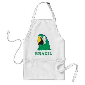 Brazil Parrot Adult Apron
