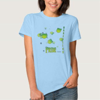 Brazil Pride Ladies Babydoll T-Shirt