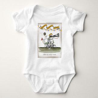 brazil referee baby bodysuit