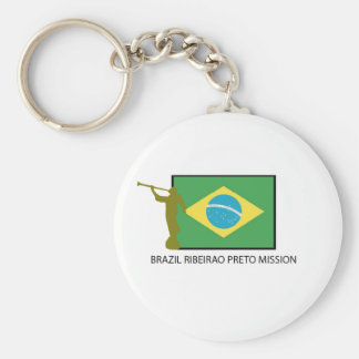 Brazil Ribeirao Preto Mission LDS Key Ring