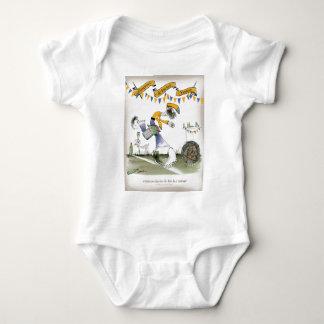 brazil right wing footballer baby bodysuit
