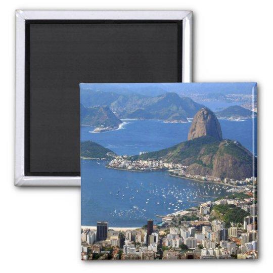 Brazil: Rio de Janeiro landscape Magnet