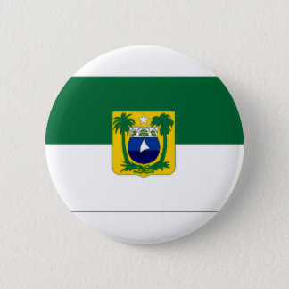 Brazil Rio Grande do Norte Flag 6 Cm Round Badge