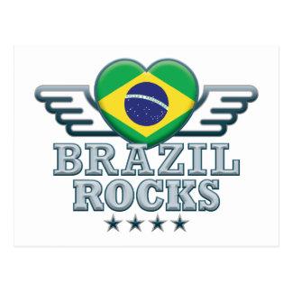 Brazil Rocks v2 Postcard
