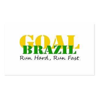 Brazil - Run Hard Run Fast Business Cards