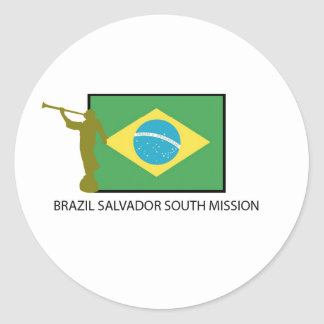 BRAZIL SALVADOR SOUTH MISSION LDS STICKERS