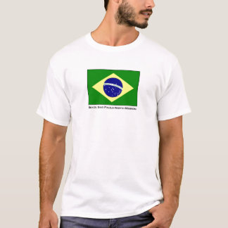 Brazil Sao Paulo North LDS Mission T-Shirt