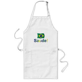 Brazil Saude! Long Apron
