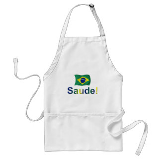 Brazil Saude! Standard Apron