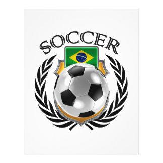 Brazil Soccer 2016 Fan Gear 21.5 Cm X 28 Cm Flyer