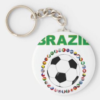 Brazil Soccer 2214 Key Chain