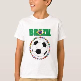 Brazil Soccer  4840 T-Shirt