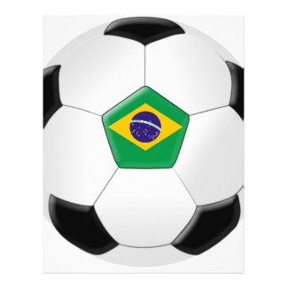 Brazil Soccer Ball 21.5 Cm X 28 Cm Flyer