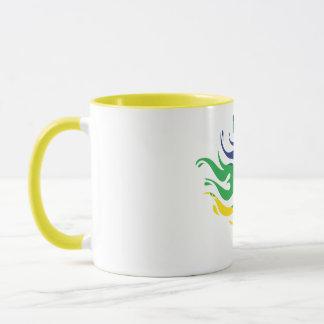 Brazil Soccer Ball Mug